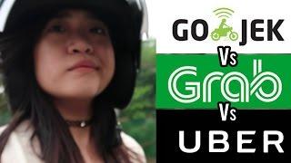 Video [SOCIAL EXPERIMENT] GOJEK vs. GRAB vs. UBER. YANG MANA PALING OKE? MP3, 3GP, MP4, WEBM, AVI, FLV Mei 2018