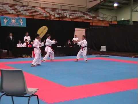 Oceania Karate Championships 2008, 12-13 Male Team Kata, NEW ZEALAND, Aanan