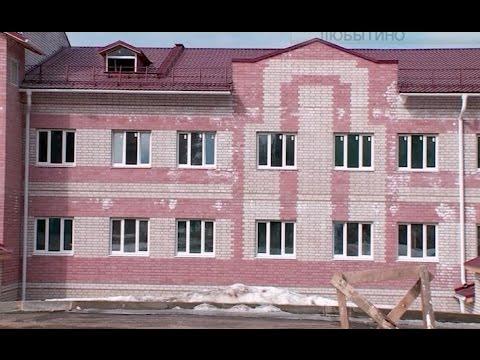 Все ближе долгожданное событие для жителей поселка Любытино – открытие новой поликлиники