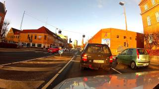 Odense Denmark  City pictures : Odense Denmark downtown on GoProHeroHD2