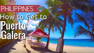 Puerto Galera Philippines  city photo : How to get to Puerto Galera White Beach from Manila Philippines | 2016 VLOG