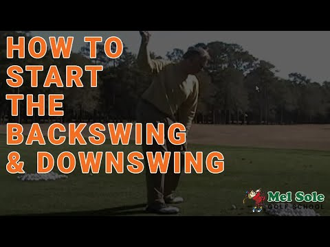 February 2008: How to start the backswing and downswing