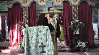 Kessis Dr. Mebratu Kiros @ Toronto St. Mary Ethiopian Orthodox Tewahedo Church (May 19, 2012)
