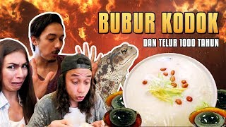 Video Bubur pake KODOK dan Telur 1000 Tahun !!! Aneh apa Enak?? ft.Yulia  Baltschun MP3, 3GP, MP4, WEBM, AVI, FLV September 2018