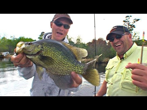 Spring Fling Float Crappie – Uncut Angling – April 4, 2013