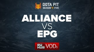 Alliance vs Elements Pro Gaming, Dota Pit Season 5, game 2 [CrystalMay, Lex]
