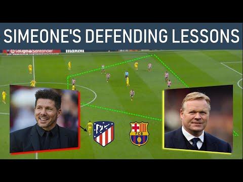 How Simeone neutralized Koeman! Match analysis! Atletico Madrid (3-5-2) vs Barcelona (4-2-3-1): 1-0