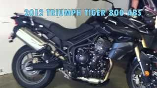 2. 2012 TRIUMPH TIGER 800 ABS