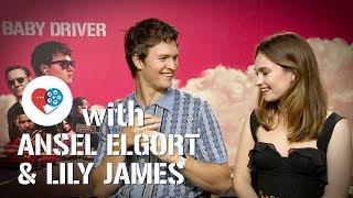 Video At the Movies x Baby Driver: Ansel Elgort & Lily James MP3, 3GP, MP4, WEBM, AVI, FLV Juli 2018