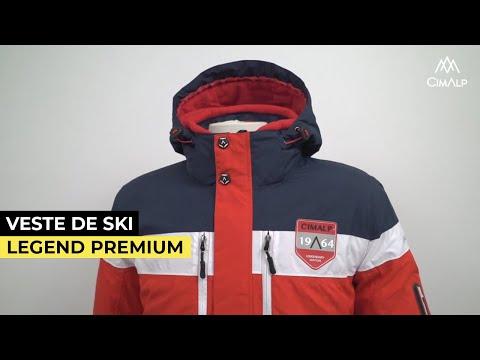 Veste de ski homme chaude et légère LEGEND premium
