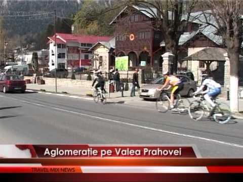 Aglomerație pe Valea Prahovei