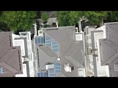 Hoàn thành hệ thồng điện năng lượng mặt trởi cho anh Đạt - City Land - Quận 7