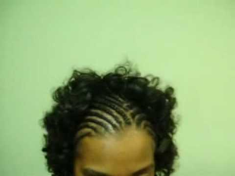 Rod Set with Braids in the Front