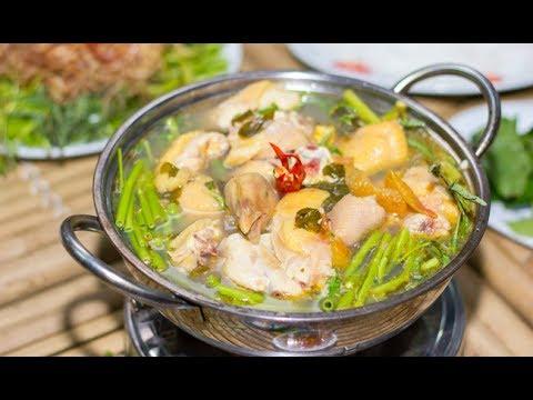 Trời mưa mẹ nhổ cải vô ăn với cá lóc đồng kho tiêu | Món Ngon Mẹ Nấu - Thời lượng: 27 phút.