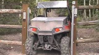 9. ATV Television Test - 2009 Polaris RZR
