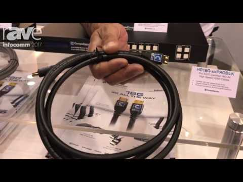 InfoComm 2017: 4K Certified 18G Commercial HDMI Cables for Systems Integration Up to 50ft