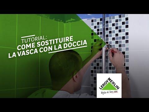 Come sostituire la vasca da bagno con una doccia - Leroy Merlin