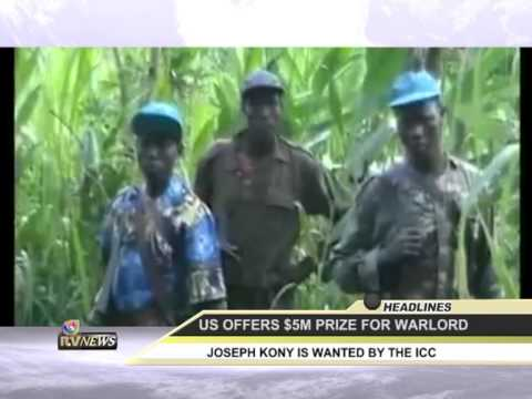 Uganda KONY 519 online news - The Obama administration has offered up to $5 million in rewards for information leading to the capture of Ugandan War lord Joseph Kony, and two of his top a...