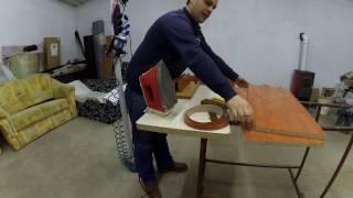 Műszerész asztal készítése maradék anyagokbol és annak berendezése.