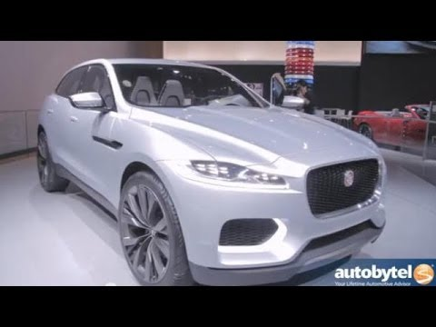Checking Out Jaguar at the 2014 Detroit Auto Show