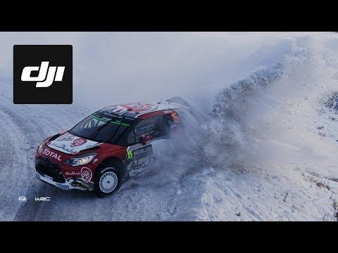 WRC - Rally de Suecia desde el drone