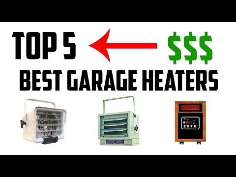 Top 5 Best Garage Heaters