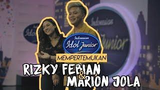 Video Indonesian Idol Junior mempertemukan Rizky Febian & Marion Jola MP3, 3GP, MP4, WEBM, AVI, FLV Desember 2018