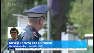 Ruský konvoj pro Ukrajinu