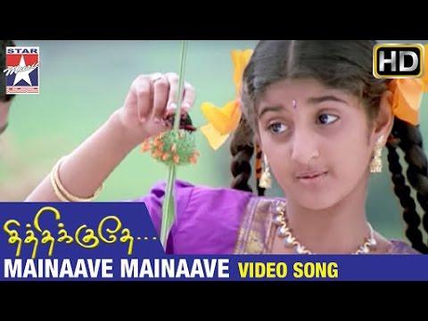 Thithikudhe Tamil Movie Songs HD | Mainaave Mainaave Video Song | Jeeva | Sridevi | Vidyasagar