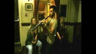 Liam Fionescu On The Clarinet