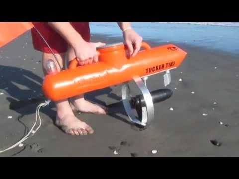 TUCKERTIKI - Self Navigating Fishing Kontiki's - 2009 model