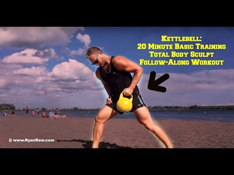 Kettlebell Basic Training Workout For Total Body Sculpting