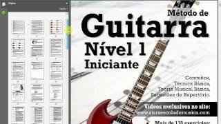 Conhecendo o Método de Guitarra - Nível 1 - Iniciante