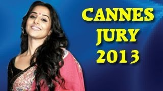 Vidya Balan in Cannes Film Festival 2013 jury