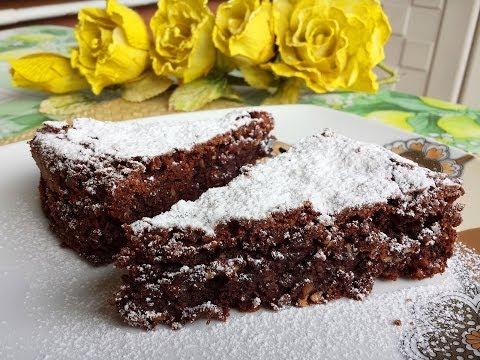 la torta caprese - ricetta