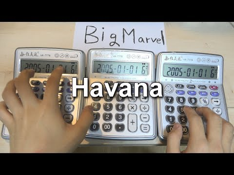 Camila Cabello - Havana 'Calculator Cover' - Thời lượng: 1:24.
