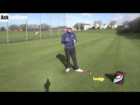 Golf Lesson Left Foot Pressure in The Downswing