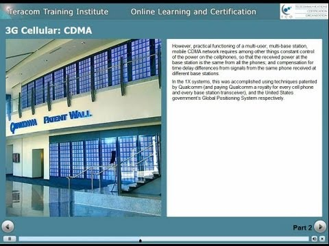 cdma - Set to HD and full screen... or watch in full quality at teracomtraining.com: http://www.teracomtraining.com/online-courses-certification/samples/lesson1052-...