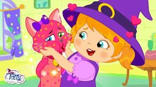 La visita de Lilly la hermanita de Tatty - Dibujos Animados