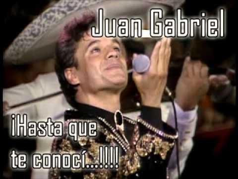 Poupurrí Hasta que te concí - Juan Gabriel