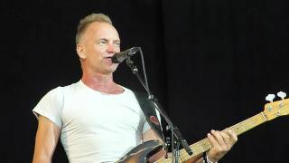 werchter classic Sting - Englishman In New York @ TW Classic Werchter, 23 June 2012