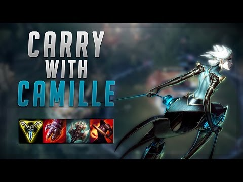 HOW TO HARD CARRY WITH CAMILLE TOP! - Road To Challenger #25 - League Of Legends
