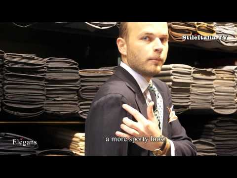 "RUBINACCI – Italian Gentleman Neapolitan Jacket – ""Giacca Napoletana"""