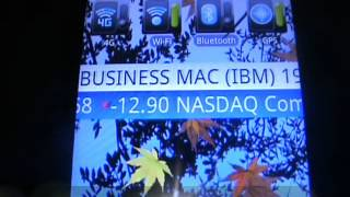 Stock Ticker Tape Pro Widget YouTube video