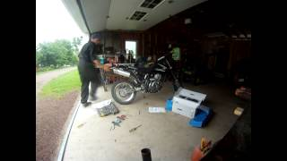 9. 2008 Suzuki DR650 with Two-Brothers Exhaust (Stock vs TwoBros) - GoPro HD