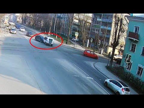 ДТП в Серпухове с машиной полиции