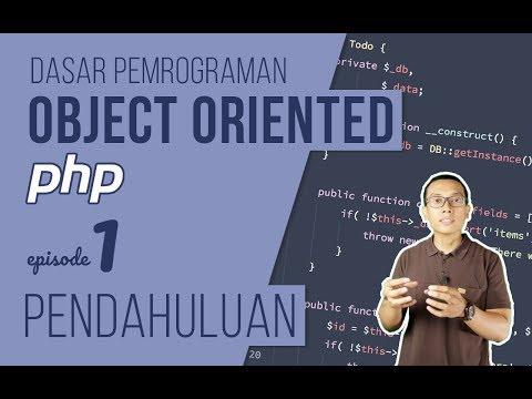 OOP DASAR pada PHP #1 - Pendahuluan