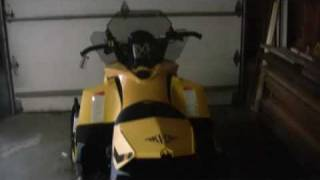 1. Ski Doo MXZ 50th Anniversary LImited Edition