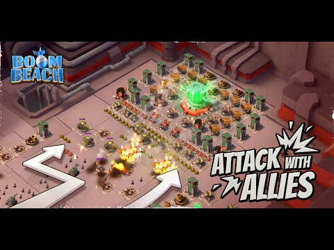 Beach - ATTACKING OPERATIONS! Boom Beach Task Force Update Sneak Peek #4! Boom Beach & Clash of Clans Gameplay! High Level Strategy, Updates & more! ✓Subscribe Today!: http://goo.gl/2qkJ8I ...