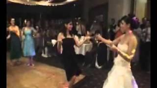 رقصة السكين  في زواج ايراني
